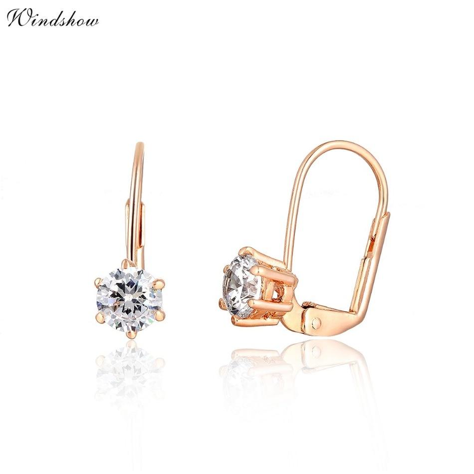 Moon Earrings Small Hoop Gold Silver Simple Minimalist Jewelry For Women Aros De Fiesta Mujer Ronde Oorbellen Ringen Aretes Aro Jewelry & Accessories Hoop Earrings
