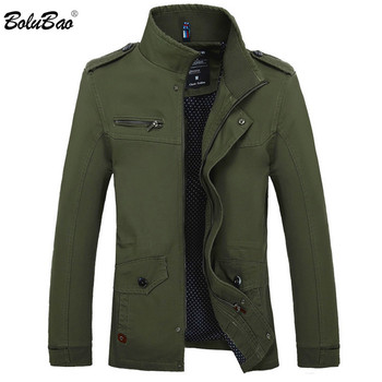 BOLUBAO Men Casual Brand Jacket 2019 New Autumn Winter Men Solid Color Coat Men's Fashion Cotton Slim Jacket Outwear Men's Jackets & Coats