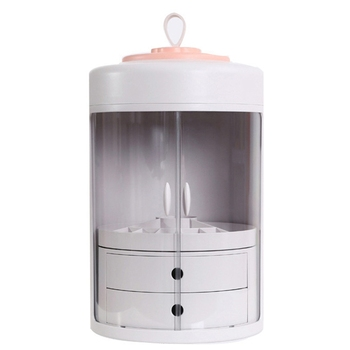 Wasserdicht Make-Up Organizer Acryl Kosmetische Lagerung Box Abnehmbare Desktop Organizer Transparent Schublade Beauty Boxen