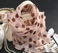100% lenços de seda Quadrados Rosa Dot lenços para as mulheres inverno neck Warmer os animais fantásticos twilly cachecol xale Xales marca e envoltório