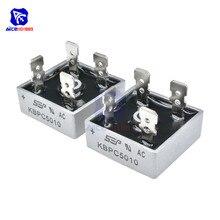 10 шт./лот мост выпрямительный диод KBPC5010 50A 1000 V один фазный мост выпрямитель интегральная схема
