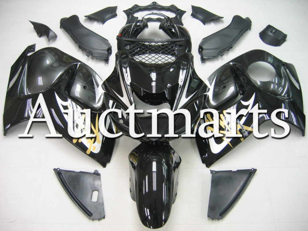 Fit for Suzuki Hayabusa GSX1300R 2008 2009 2010 2011 2012 2013 2014 ABS Plastic motorcycle Fairing Kit GSX1300R 08-14 CB07 chrome spike full fairing bolt kit nut screw for suzuki gsx r1300 hayabusa 2008 2009 2010 2011 2012 2013 2014