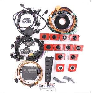 Передняя и задняя 12K OPS автоматическая интеллектуальная помощь при парковке, помощь при парковке, пла 2,0, используется для VW Passat B7 CC 3AA 919 475/m