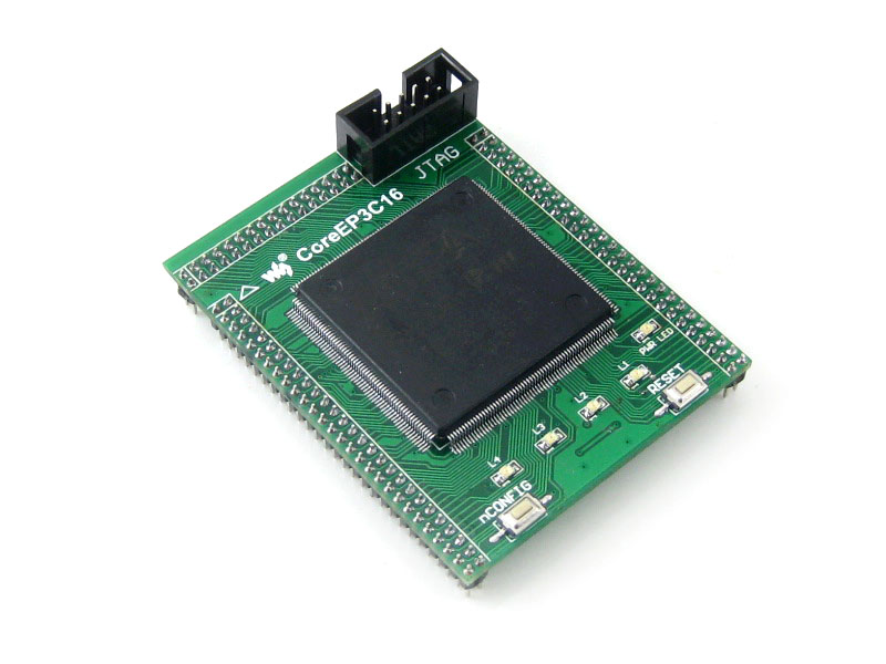 цена на Waveshare CoreEP3C16 EP3C16 EP3C16Q240C8N ALTERA Cyclone III FPGA Development Board Full I/O Expander JTAG Interface