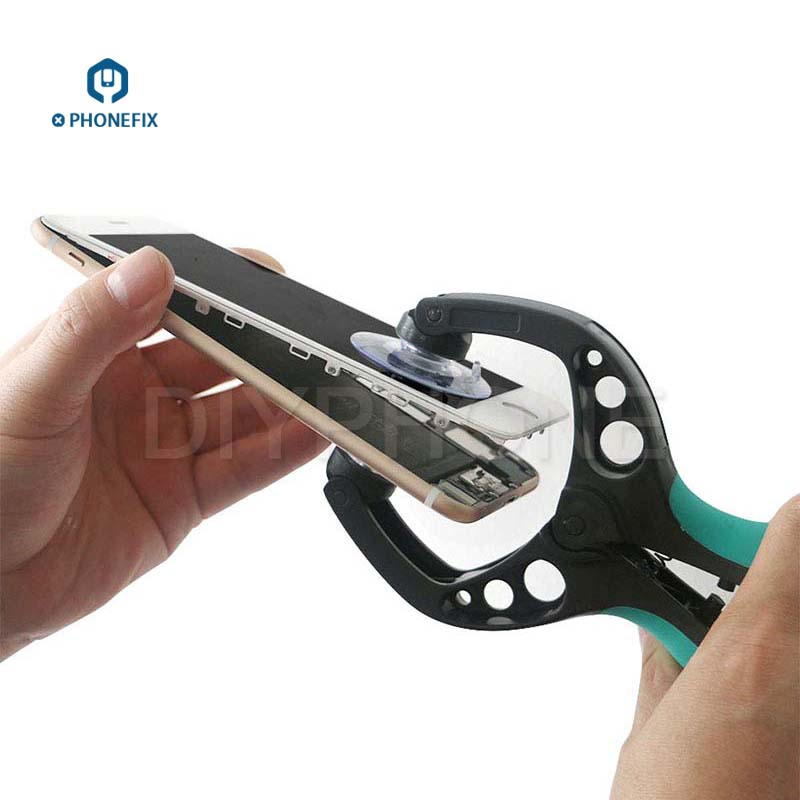 PHONEFIX Suction Cup Mobile Phone LCD Screen Opening Tools LCD Opener For Samsung iPhone Repair Tool With Gifts