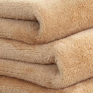 Image 2 - Big Size Super Zacht Bed Deken Fleece Solid Pure Kleur Roze Deken Plaids Spreien Gooi Voor Bed Gift