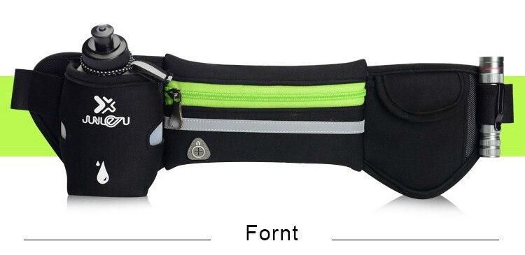 Outdoor Women&Men Hydration Belt For Trail Running Hip Waist Pack Gym Fitness Jogging Waist Bag Water Bottle Sport Accessories 11