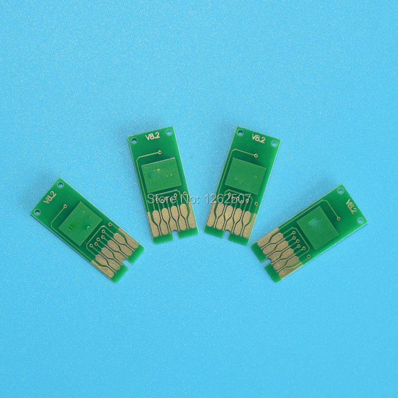 1 Set ARC Chip For Epson T676XL T6761 T6764 For Epson WorkForce Pro WP 4010 WP