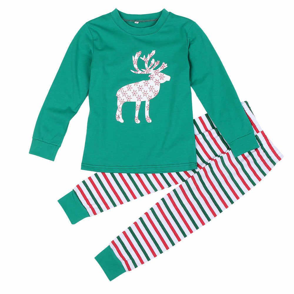 d65035715 ... Nuevo pijama de Navidad de la familia 2018 de la manera para la familia  más el ...
