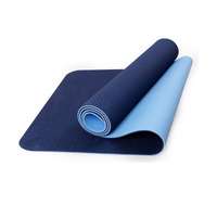 Yoga mat TPE fitness tapete Thick Non slip Gym fitness body building esterilla Pilates gymnastics Exercise yoga mats 183*61*6mm