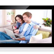 "XinSiLu TFT Monitor LCD Color 9"" LCD Video Door Phone Doorbell  Intercom Home Security Video System Kits Monitor"