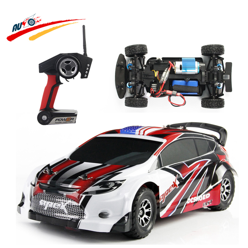 RC Car Wltoys 1:18 Proportion 4 Wheel Drive 2.4G Remote Control Electric Car Maximum Speed 40Km/h l Vehicle Racing Car Toy 40km h 4 wheel electric skateboard dual motor remote wireless bluetooth control scooter hoverboard longboard
