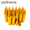 WLRING STORE- 20PCS ALUMINUM EXTENDED TUNER WHEEL LUG NUTS WITH SPIKE FOR WHEELS/RIMS M12X1.25 WLR- ELBN12125