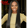 250% Full Lace Human Hair Wigs Indian Straight Lace Front Human Hair Wigs For Black Women 8A Full Lace Front Wigs With Baby Hair