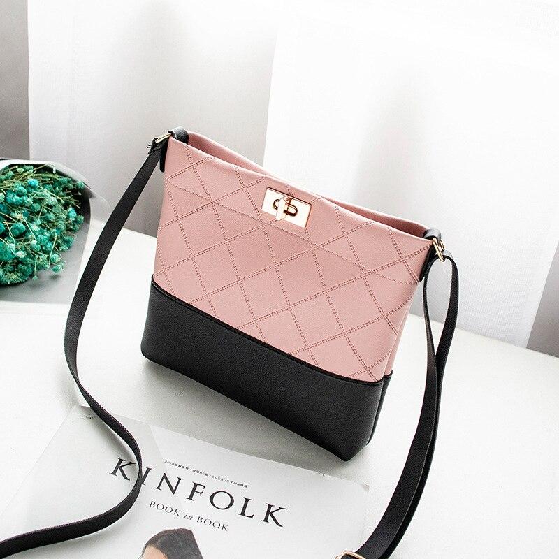 Worean Shoulder Bag Luxury Handbags Women Bags Designer Version Luxury Wild Girls Small Square Messenger Bag Bolsa Feminina#5$