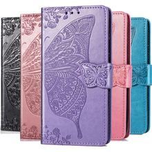 Luxury Case For Huawei V20 P30 P20 Lite P Smart Mate 20 Pro Y6 Y7 Y9 2019 Enjoy 7s 9 Simple Color PU Leather Retro Cover D05Z