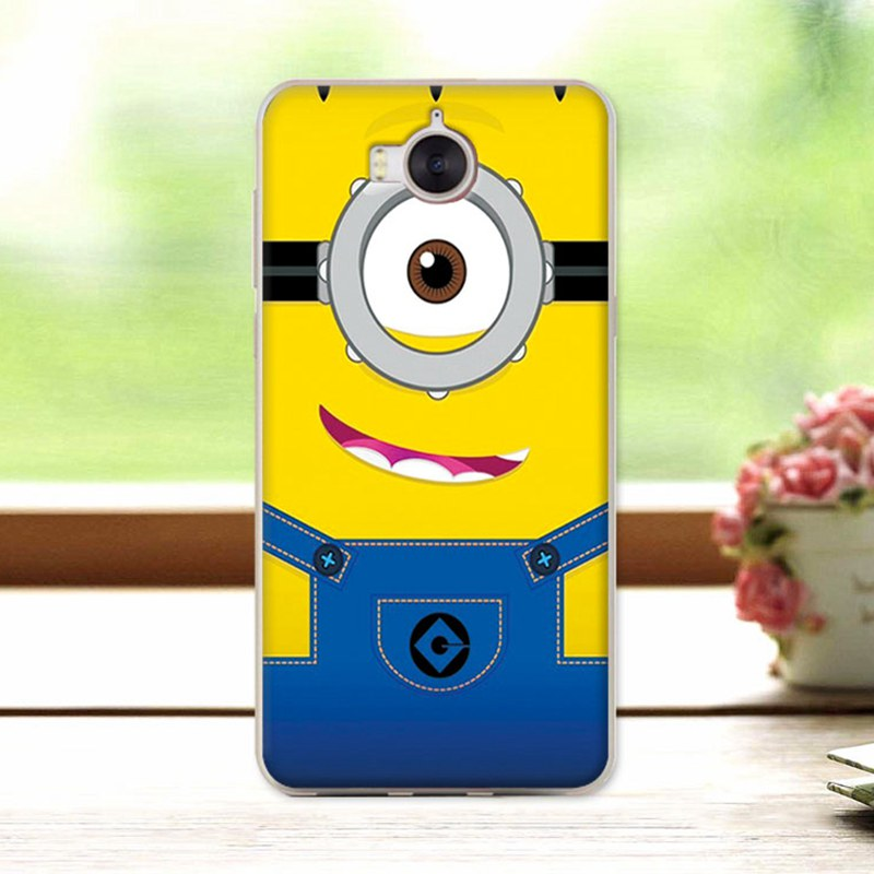 coque huawei y6 2017 silicone smilley