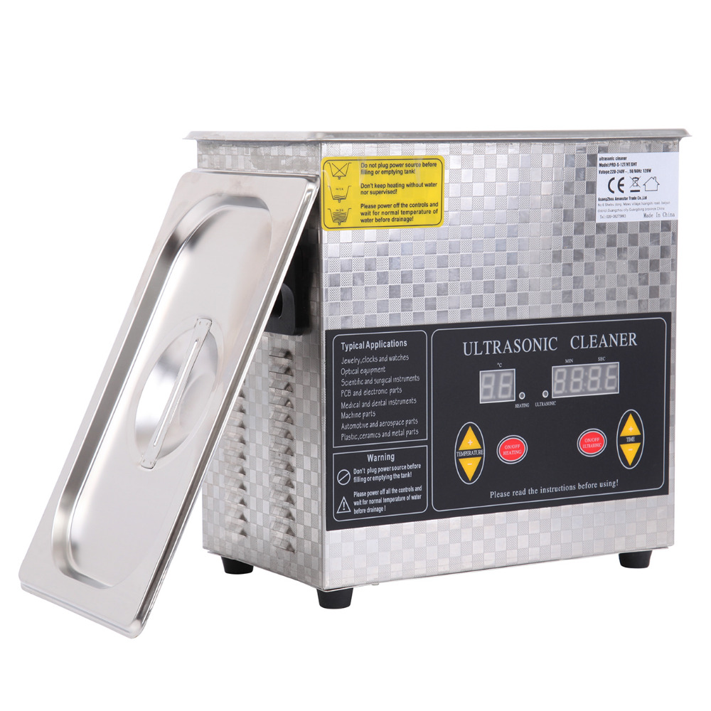 Ship from USA! 3L Digital Ultrasonic Cleaner Heater Heating Bath Timer Cleaning machine usa ship