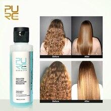 PURC Apple Flavor Brazilian Keratin Straightening Hair Treatment Repair Damage Frizzy Hair Make Hair Smoothing Products 100ml