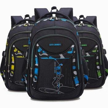 Waterproof children school bags For Boys&Girls kids backpacks Children Schoolbags primary School Backpacks Mochila Infantil Kids & Baby Bags