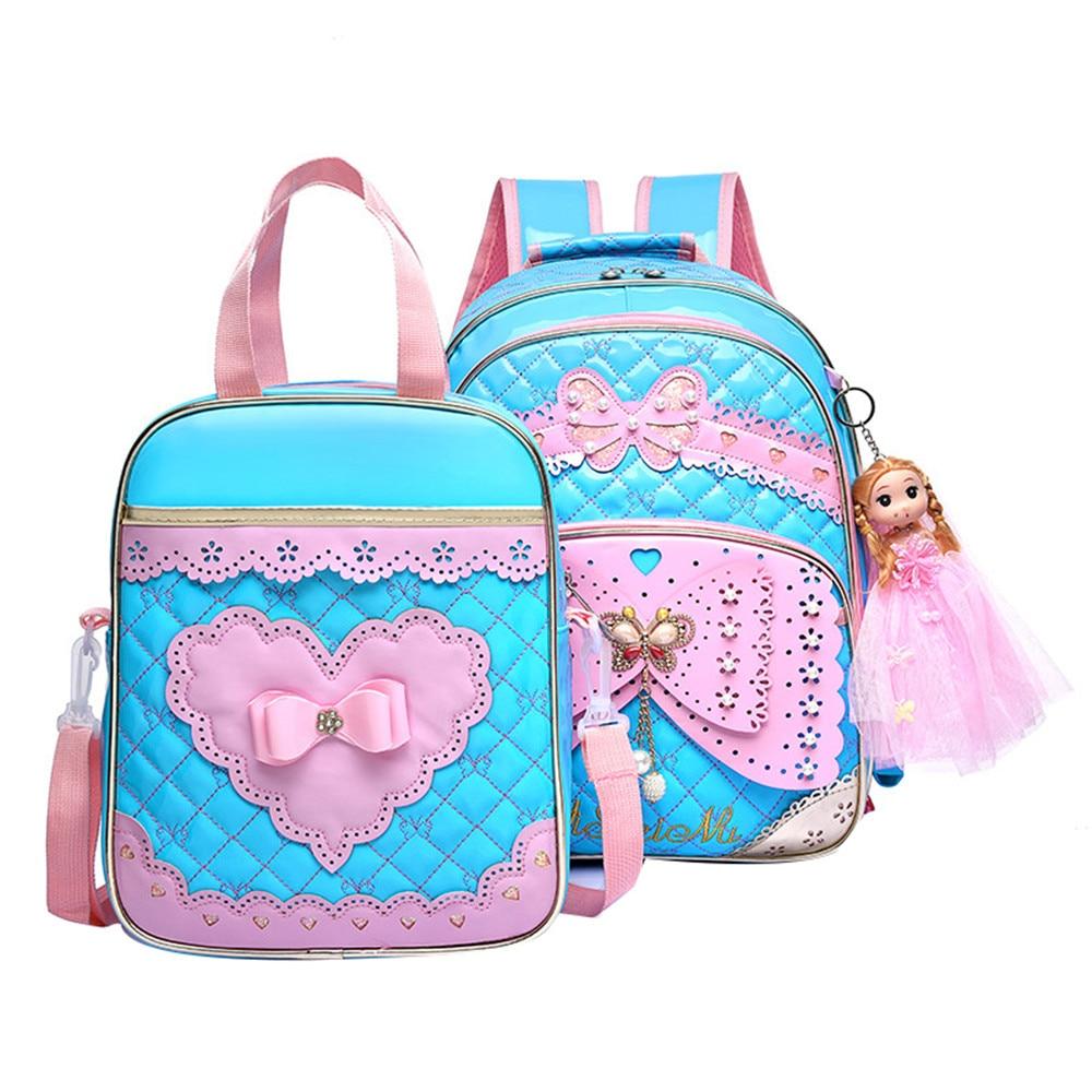 Children School Bags For Girls Backpack Kids Printing Backpacks Set Schoolbag Kids Waterproof Primary School Backpacks Mochilas