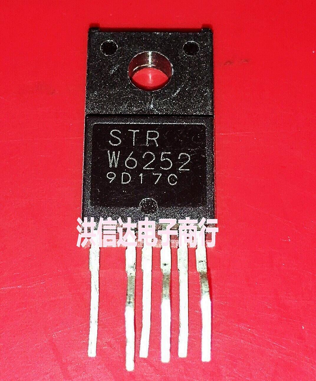 1pcs/lot STRW6252 STR-W6252 TO-220F In Stock