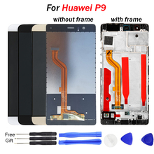 цена на For HUAWEI P9 Display Touch Screen Digitizer with Frame Original 5.2