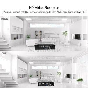 Image 5 - 4 ערוץ AHD מיני DVR מקליט וידאו מעקב אבטחת CCTV NVR 720P/8CH 1080N היברידי DVR עבור אנלוגי AHD ONVIF IpCam WiFi