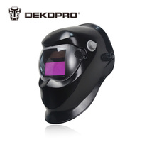 DEKO Black Solar Auto Darkening Electric Welding Mask Helmet Welder Cap Welding Lens For Welding Machine