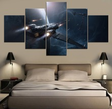 Star Citizen Game HD Print Painting Modern Canvas Wall Art 5 Piece For Living Room Artwork