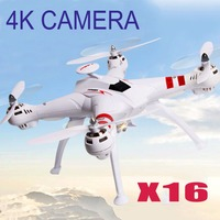Free Shipping X16 RC Helicopter Brushless Motor 2 4G 4CH 6Axis FPV Quadcopter RTF Automatic Return