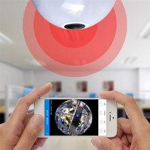 Лампочки Беспроводной IP Cam Wi-Fi 1280*960 P 360 градусов Мини Камера 1.3MP Wi-Fi Камера панорамный поддержка Ночное видение