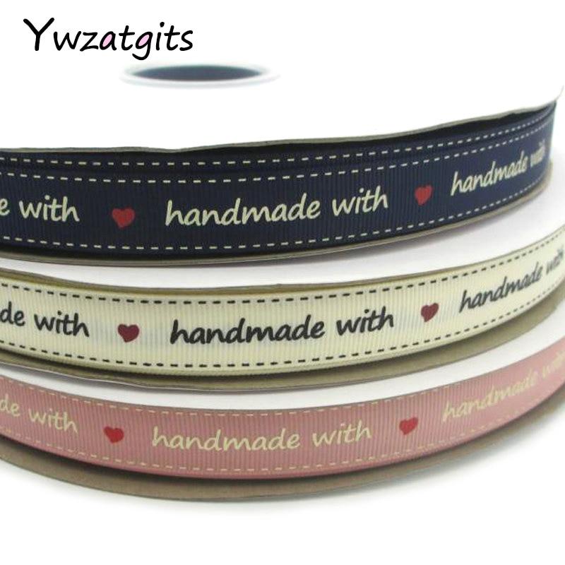 Ywzatgits 5y/3y 16 мм мульти вариант цвета мультфильм печатных Grosgrain ленты одежды вечерние/свадебные/упаковка декоративные 040054256