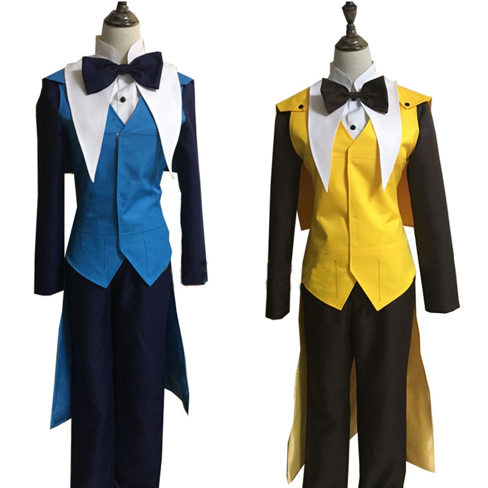 2018 Gravity Falls Bill Cipher Cosplay Costume Mystery Attack Outfit Halloween Costumes