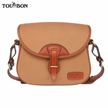 Tourbon Hunting Gun Tactical Cartridges Bag Shooting Speed Loader Game Bags Rifle Shotgun Ammo Shells Holder Durable Canvas Case
