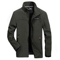 Plus Size 4XL Autumn Winter Men S Fashion Brand Clothing Military College Plus Velvet Warm Jacket