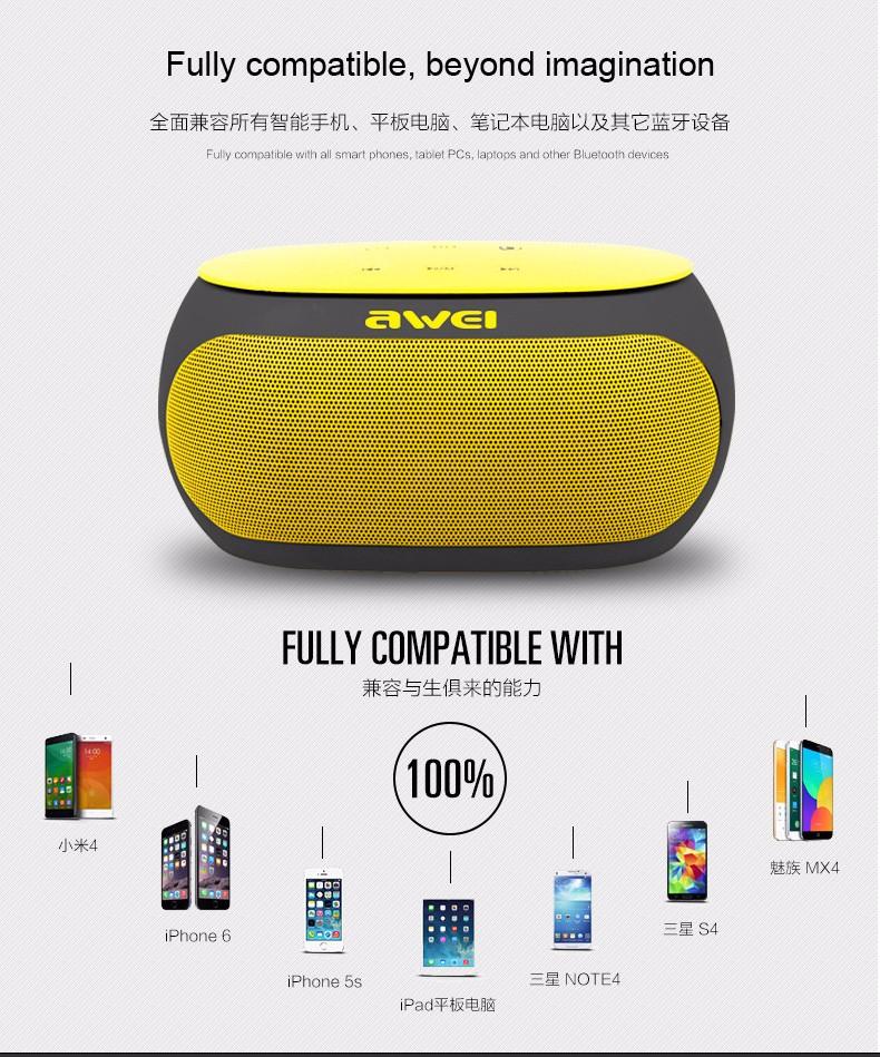 Awei Y200 bluetooth speaker