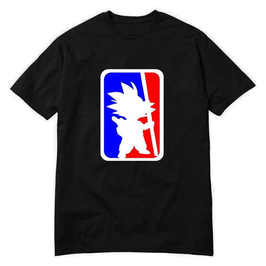 Usa print son goku fun dragon ball z t shirts free for T shirt printing usa