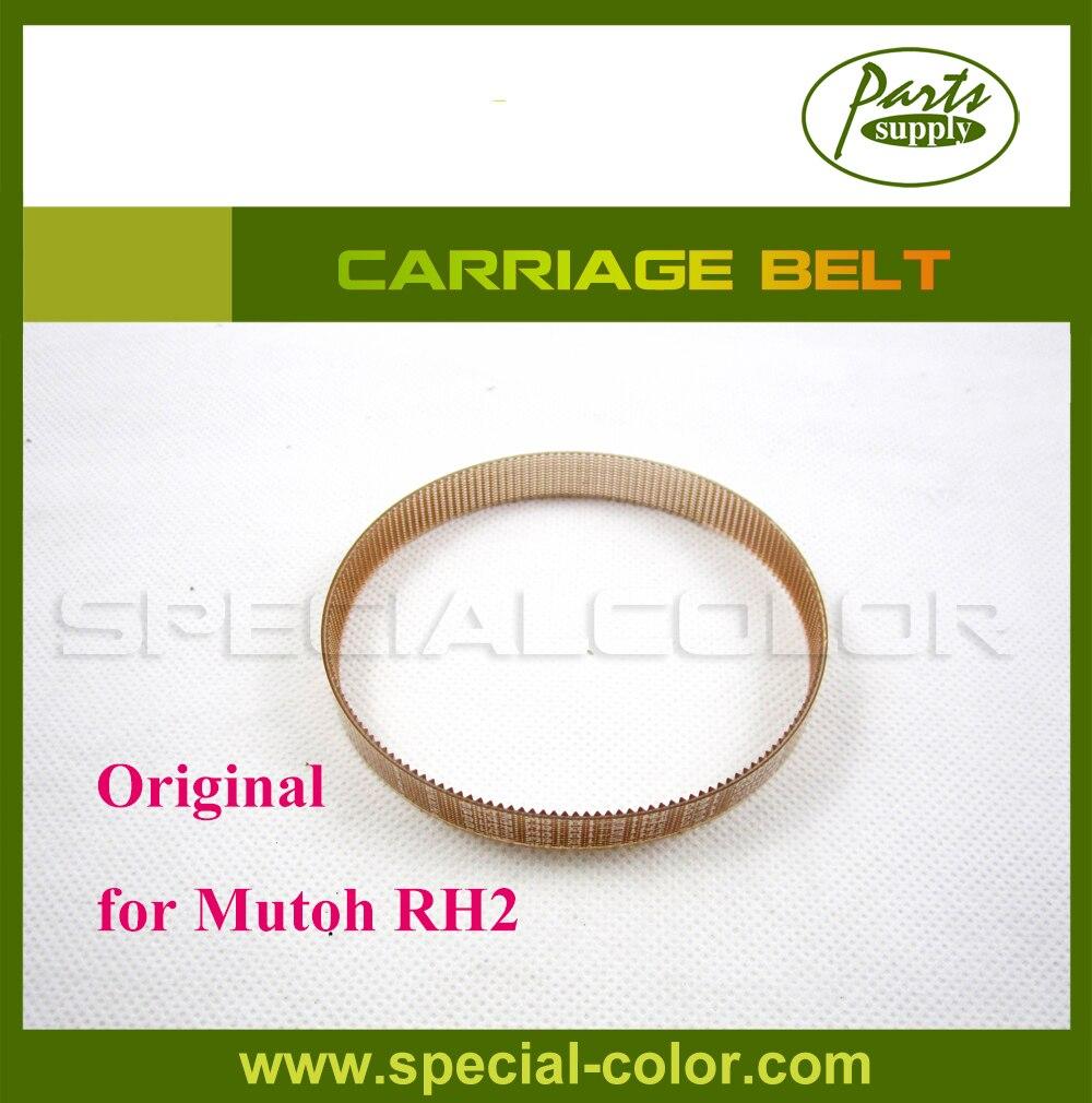 100% Original Mutoh RH2 CR Belt (Carriage Belt) for DX4 Waterbased/Solvent Printer 100 шт 100% новый rh ix0155bxzz