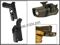 Blackhawk tactical gun holster Level 3 Holster glock With Flashlight pistol holster