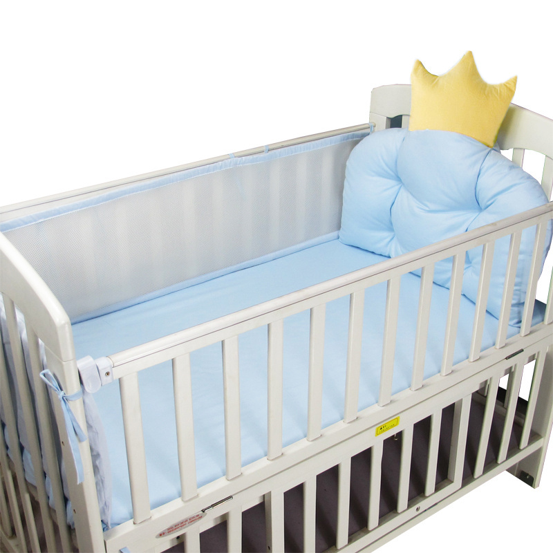 Summer Infant Crib Bumper Breathable Bed Protector Baby