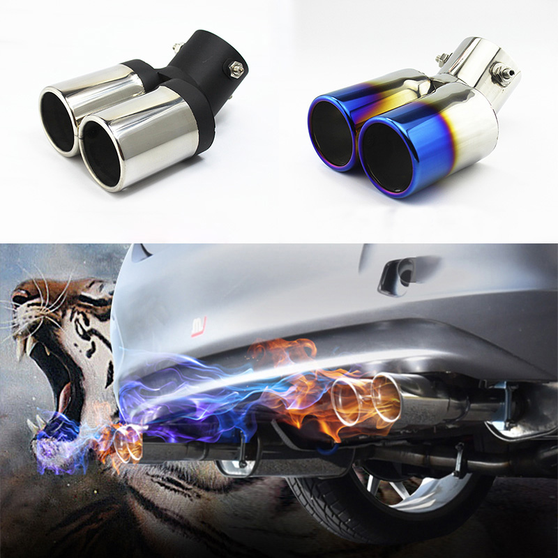 car-auto-round-exhaust-muffler-tip-stainless-steel-fontb1-b-font-to-2-dual-pipe-chrome-trim-modified