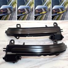 2 Pieces For BMW F20 F30 F31 F21 F22 F23 F32 F33 F34 X1 E84 1 3 4 series Dynamic Rearview Mirror Blinker Turn Signal LED light