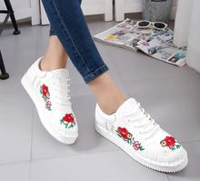 Fashion Brogue embroidery Shoes Woman Loafers Candy Colors Flats Women Oxfords Creepers Flat Casual Shoes Women Walking Shoes