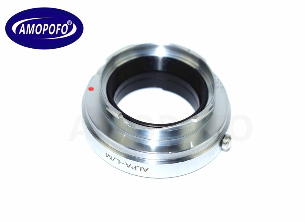 Leica üçün ALPA-LM Adapter ALPA Lens-TECHART LM-EA 7 üçün M L / - Kamera və foto - Fotoqrafiya 3