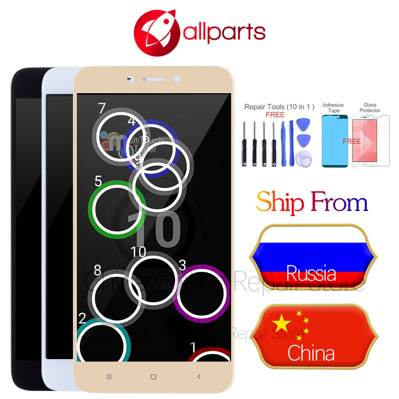10 Touches IPS Display For XIAOMI Redmi 4X LCD Touch Screen with Frame Replacement Screen For XIAOMI Redmi 4X Pro LCD Display