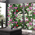 decorative tint Window Privacy Film 92x100cm Frosted home Decor Sliding door static window stickers flower Hsxuan brand 923103