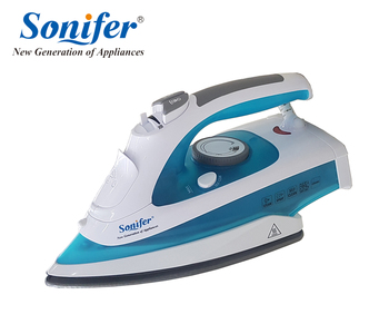 220W Portable Electric Steam Iron For Clothes 220V High Quality Three Gears Ceramic soleplate Sonifer clothes iron