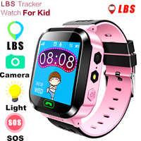 MOCRUX Q528 montre intelligente enfant montre-bracelet SOS GSM localisateur Tracker Anti-perte de sécurité Smartwatch enfant garde pour iOS Android
