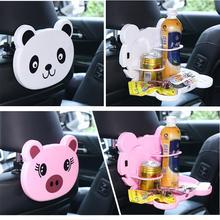 Мультяшный медведь на заднем сиденье автомобиля подвесной держатель